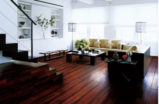 浅谈办公室装修实木地板的维护