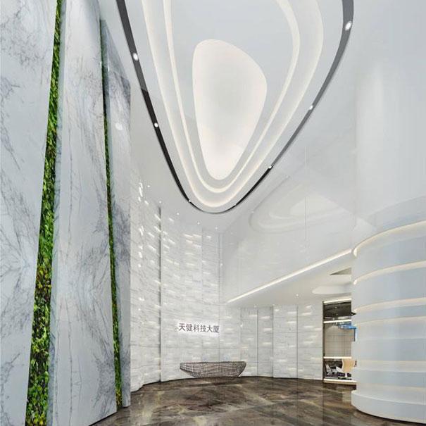 天健科技大厦_深圳办公室装修设计