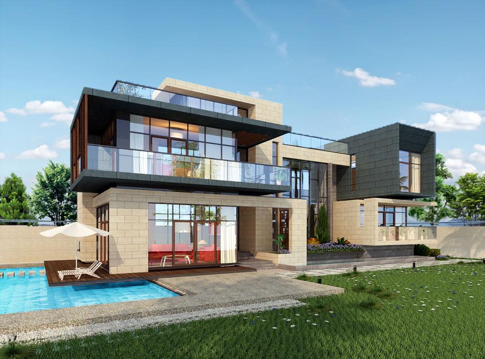 成豪现代风格别墅设计